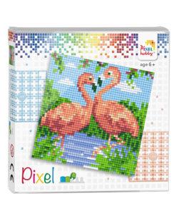 Pixel flamingo Pixelhobby