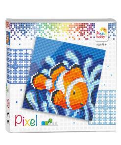 Pixel clown vis Pixelhobby