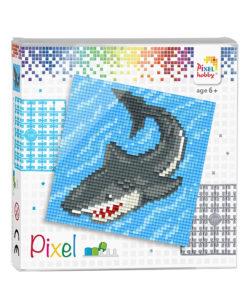 Pixel haai Pixelhobby