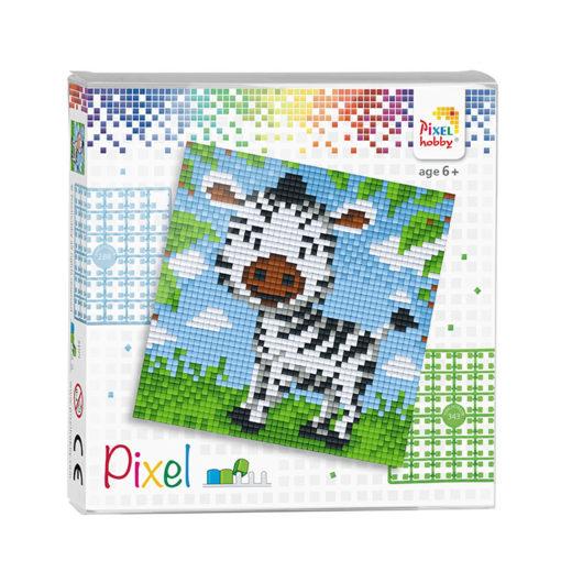 Pixel zebra Pixelhobby