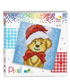 Pixel kerstbeer Pixelhobby