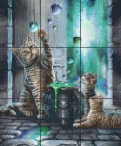 Pixelcraft Pixelhobby patroon Hubble Bubble Lisa Parker