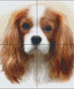 Pixelcraft Pixelhobby patroon king charles Howard Robinson