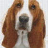 Pixelcraft Pixelhobby patroon Basst hound Howard Robinson