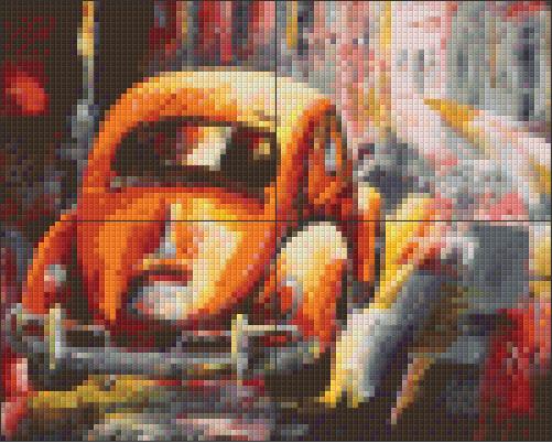 Pixelcraft Pixelhobby patroon Kever Micko vic