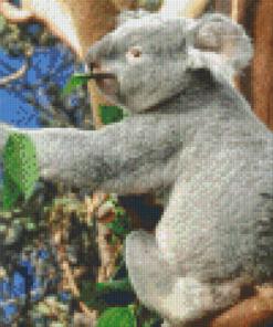 Pixelcraft Pixelhobby patroon koala