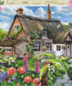 Pixelcraft Pixelhobby patroon foxglove cottage Howard Robinson
