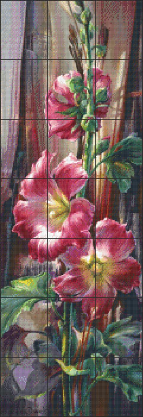 Pixelhobby patroon Final Curtain Pixel craft patroon Vie Dunn-Harr