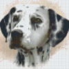 Pixelhobby patroon, Pixel craft patroon Dalmatier Howard Robinson