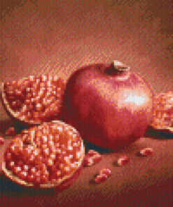 Pixelhobby patroon, Pixel craft patroon Granaat Appel Harold Ross