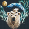 Pixelhobby patroon, Pixel craft patroon Arctic Love Michael Gardner