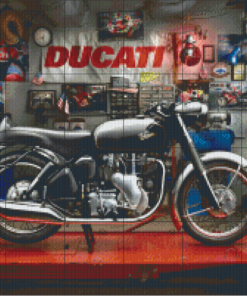 Pixelhobby patroon, Pixel craft patroon Velocette Venon Harold Ross