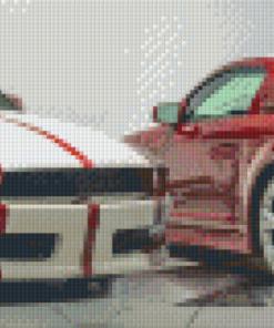 Pixelhobby patroon, Pixel craft patroon Lambourghini Tractorri