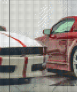 Pixelhobby patroon, Pixel craft patroon Lambourghini Tractorri