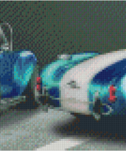 Pixelhobby patroon, Pixel craft patroon AC Cobra