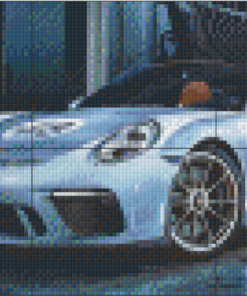 Pixelhobby patroon, Pixel craft patroon Porche the legend